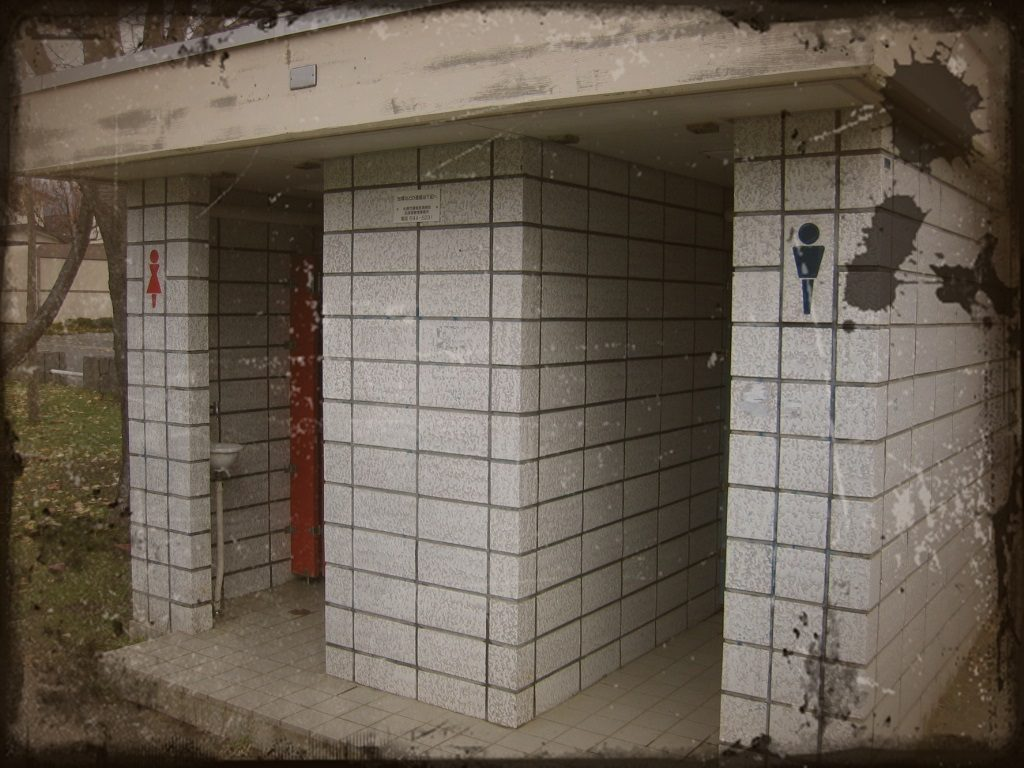 【怖い話】とある公園の一番トイレには真っ黒髪の女性の幽霊がいる